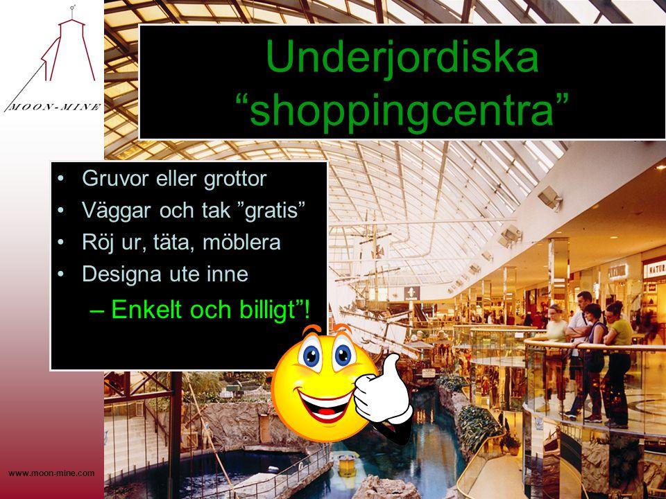 Underjordiska shoppingcentra