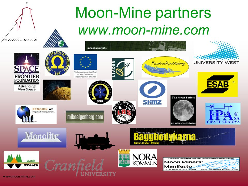 Moon-Mine partners www.moon-mine.com