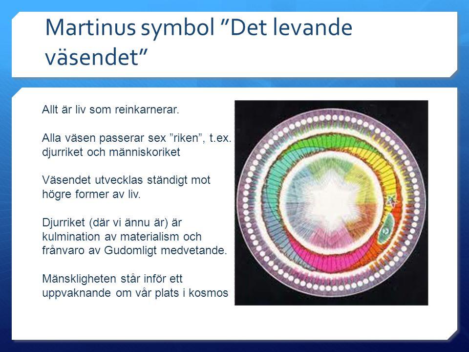 Martinus symbol Det levande väsendet