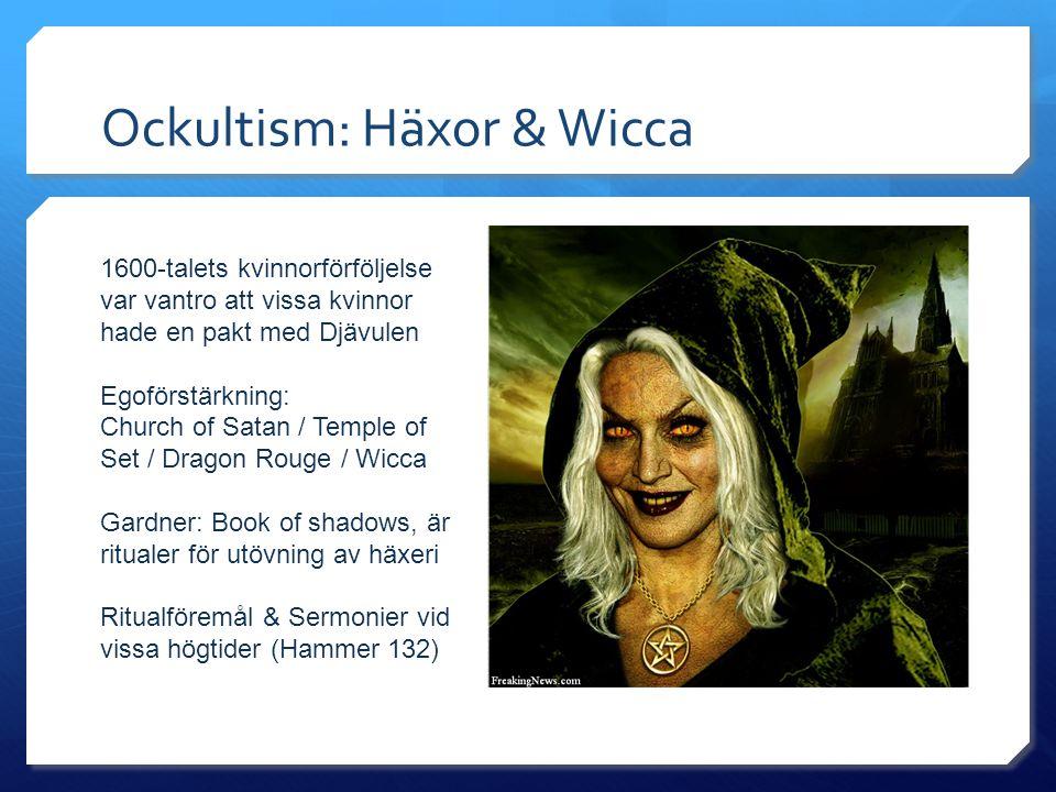 Ockultism: Häxor & Wicca