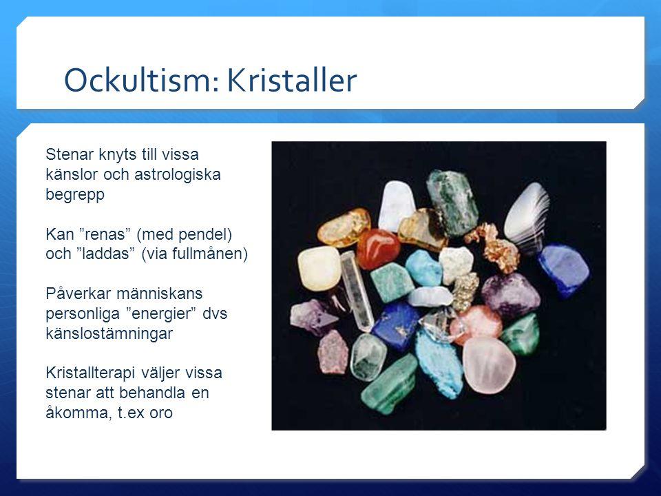 Ockultism: Kristaller