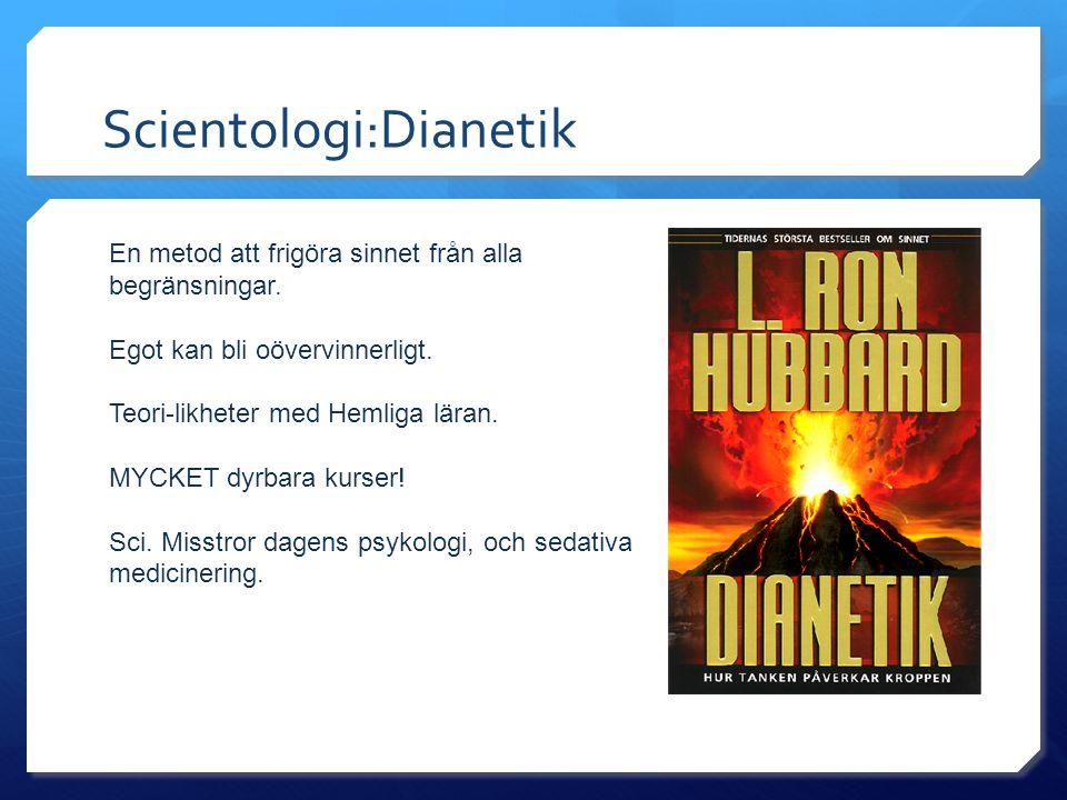 Scientologi:Dianetik