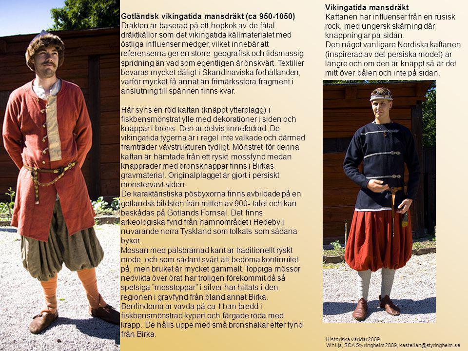 Vikingatida mansdräkt