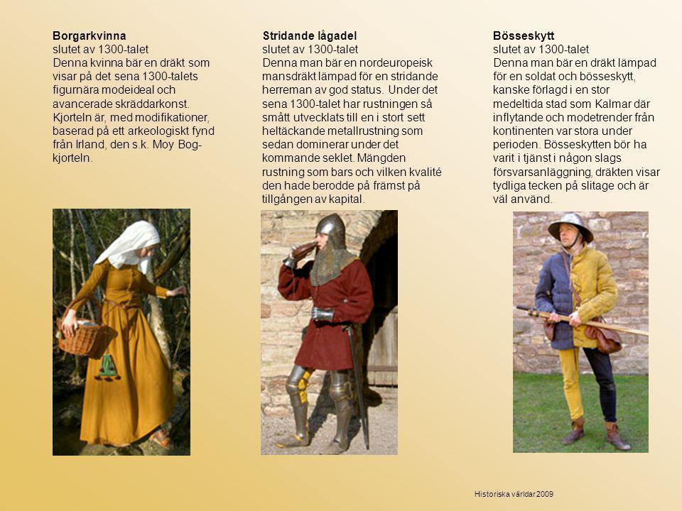 Borgarkvinna slutet av 1300-talet