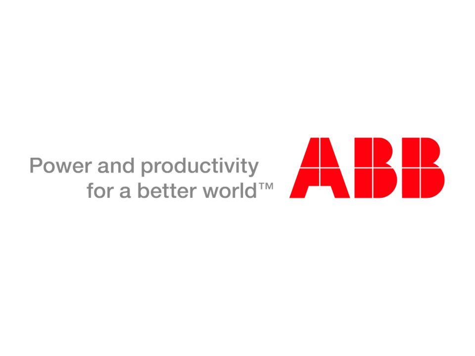 © ABB Group April 3, 2017 | Slide 34
