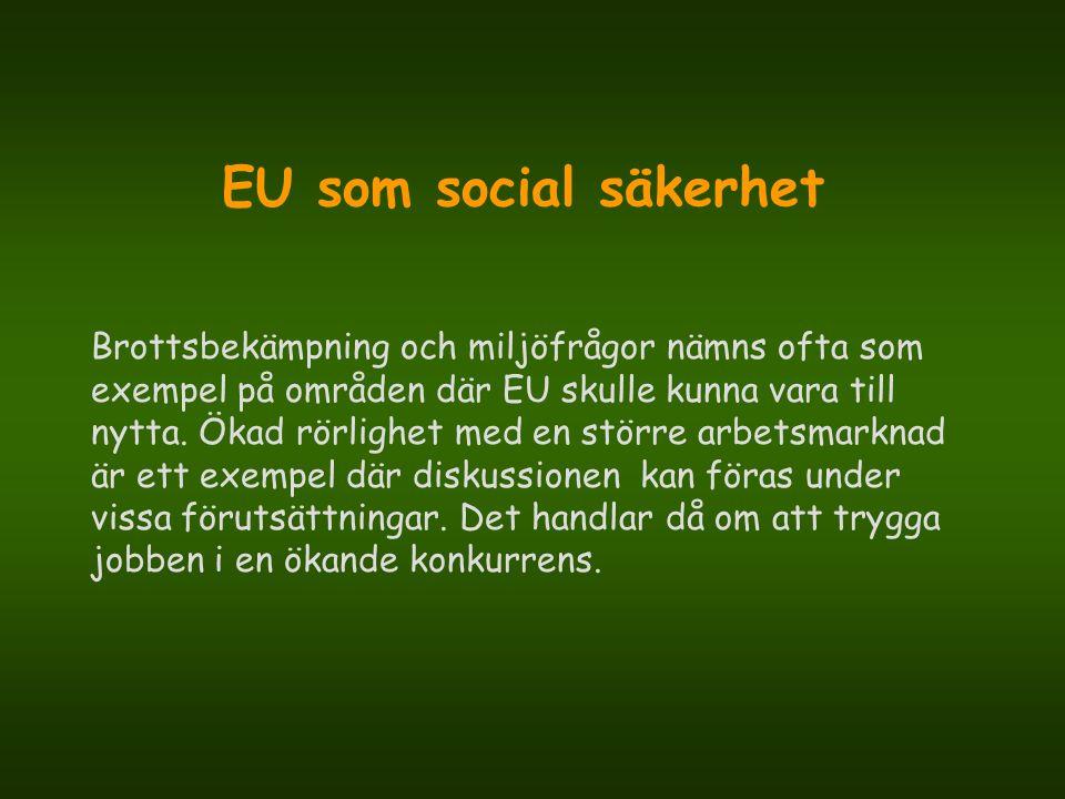 EU som social säkerhet