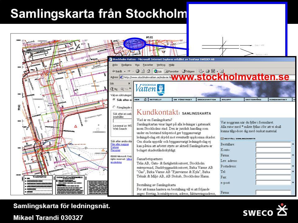 Samlingskarta från Stockholm