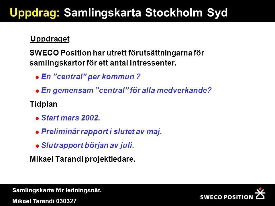 Uppdrag: Samlingskarta Stockholm Syd