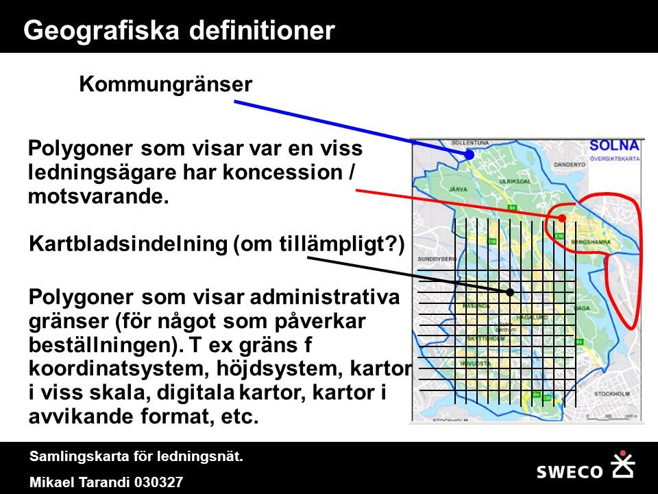 Geografiska definitioner