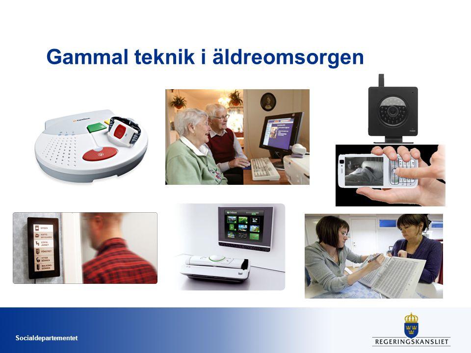 Gammal teknik i äldreomsorgen