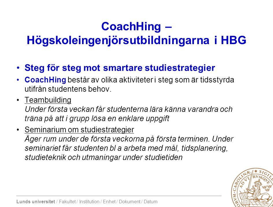 CoachHing – Högskoleingenjörsutbildningarna i HBG