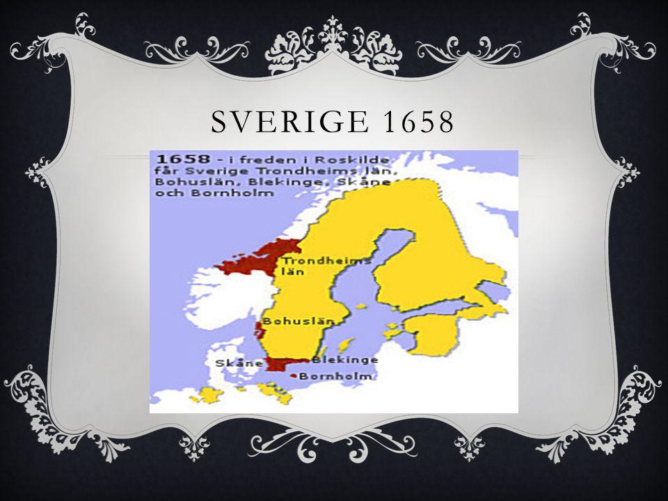 Sverige 1658