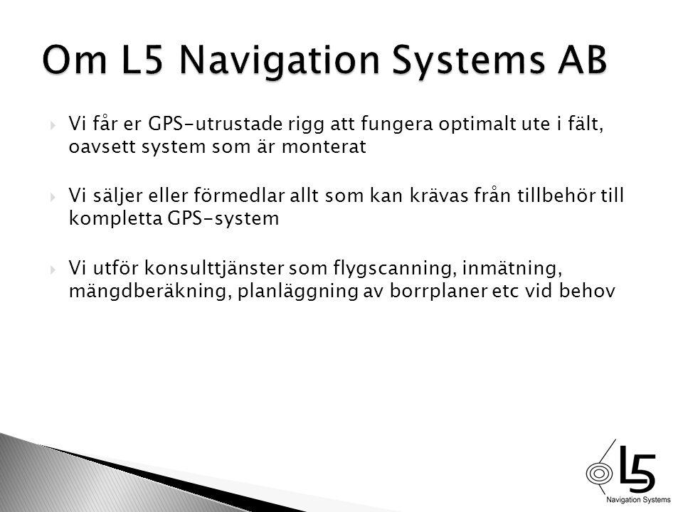Om L5 Navigation Systems AB