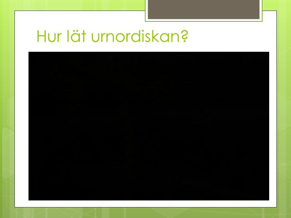 Hur lät urnordiskan