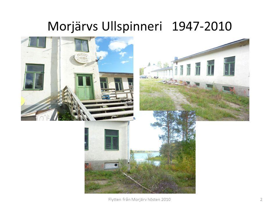 Morjärvs Ullspinneri 1947-2010