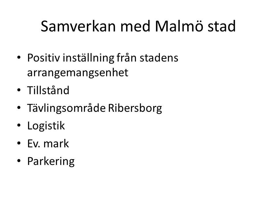 Samverkan med Malmö stad