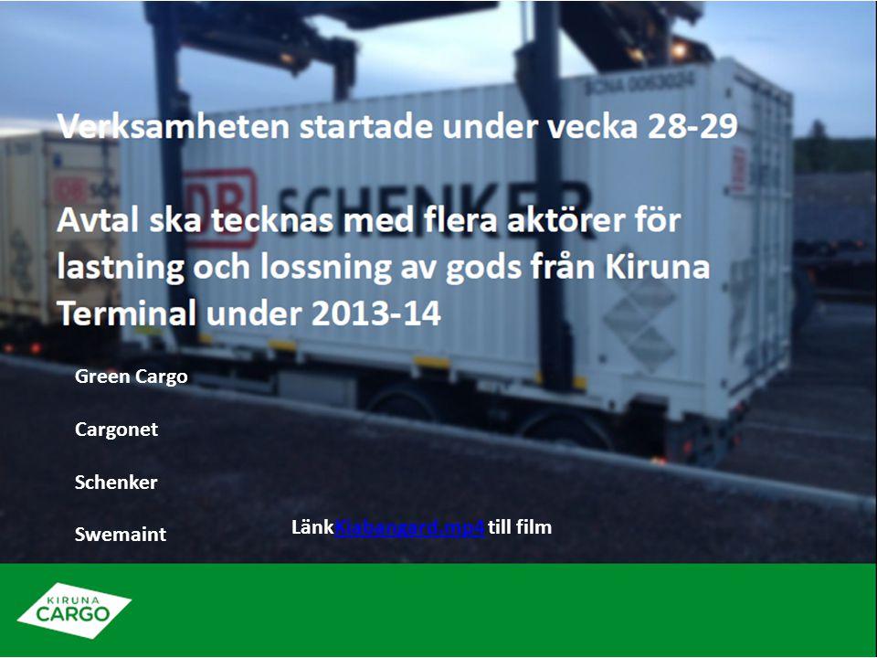 Green Cargo Cargonet Schenker Swemaint LänkKiabangard.mp4 till film
