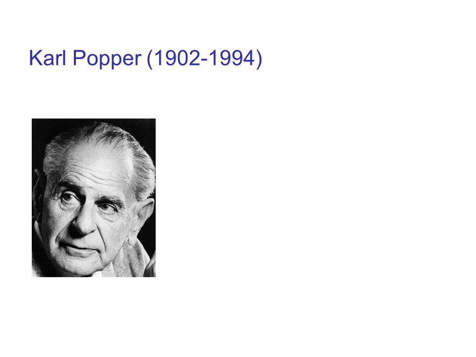 Karl Popper (1902-1994)