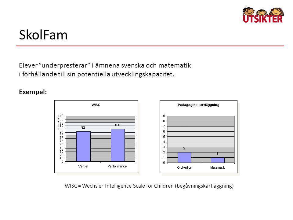 SkolFam Elever underpresterar i ämnena svenska och matematik