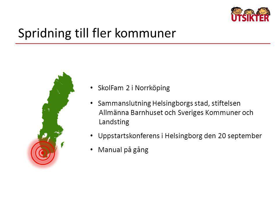 Spridning till fler kommuner