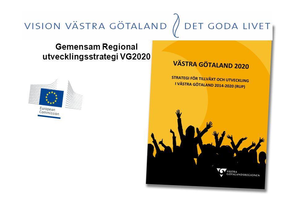 Gemensam Regional utvecklingsstrategi VG2020