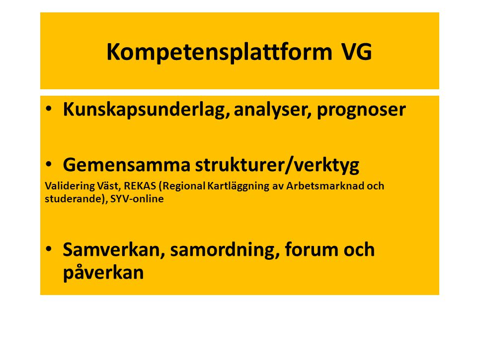 Kompetensplattform VG