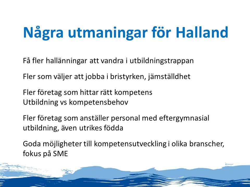 Några utmaningar för Halland