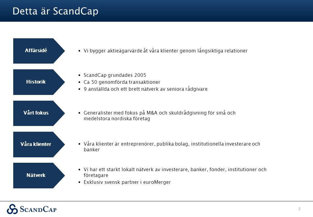 Detta är ScandCap Affärsidé