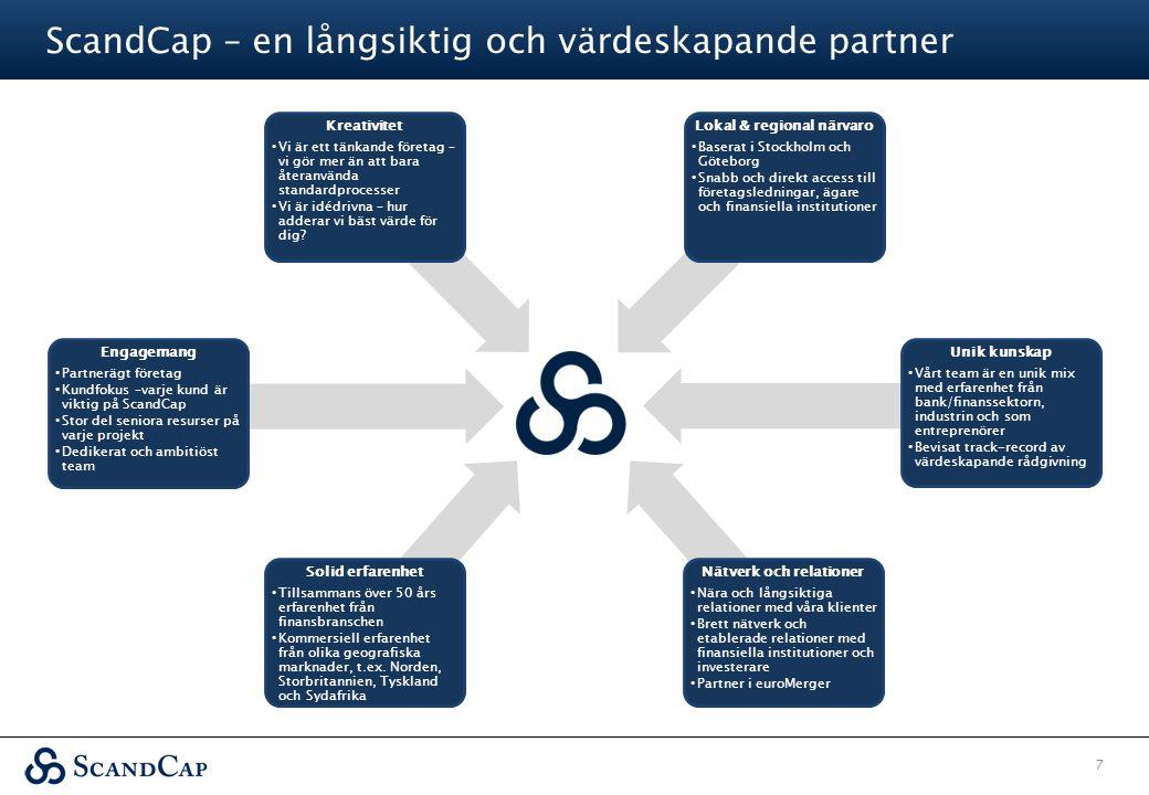 ScandCap – en långsiktig och värdeskapande partner