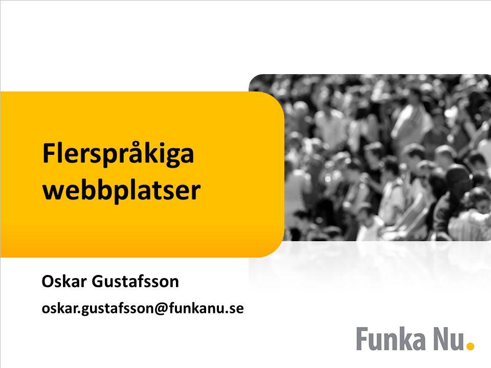 Flerspråkiga webbplatser