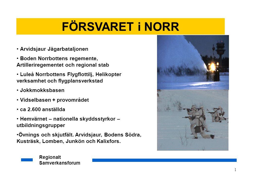 FÖRSVARET i NORR Arvidsjaur Jägarbataljonen