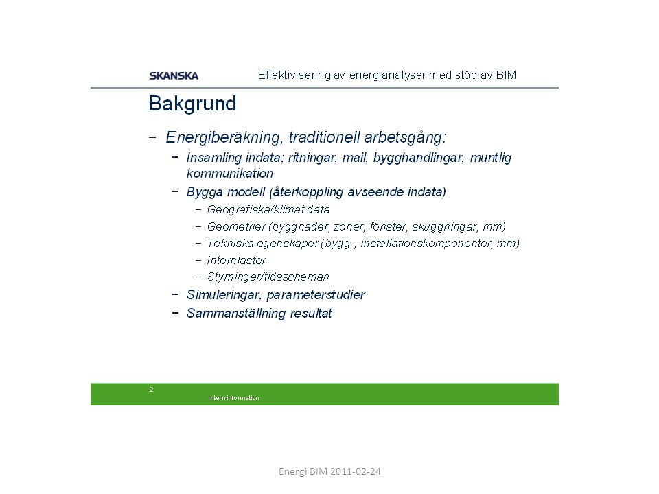 Energi BIM 2011-02-24
