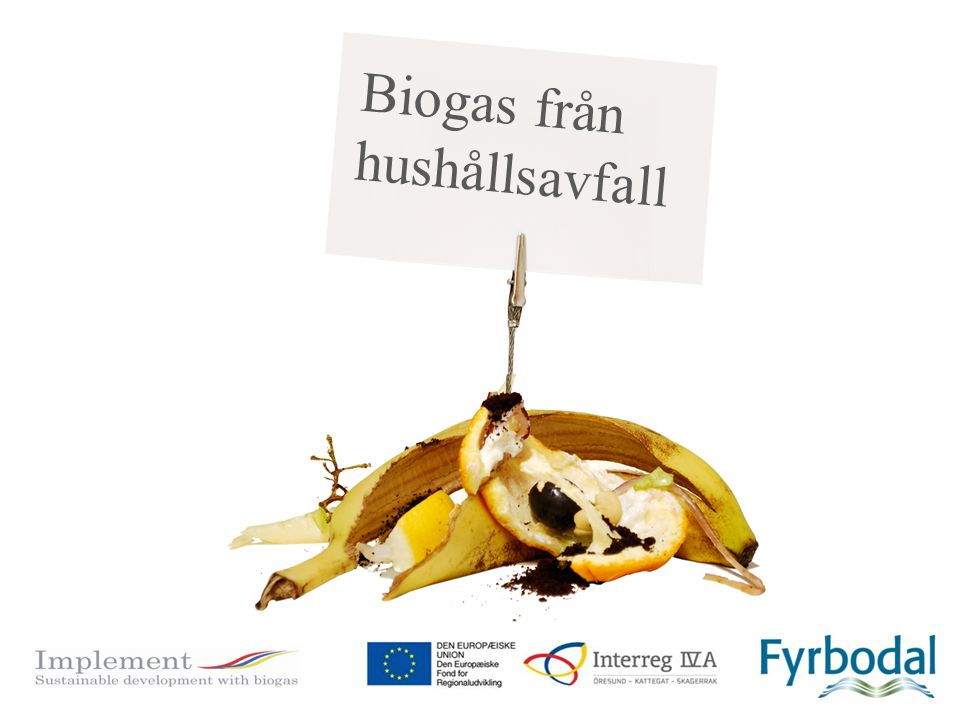 Biogas från hushållsavfall