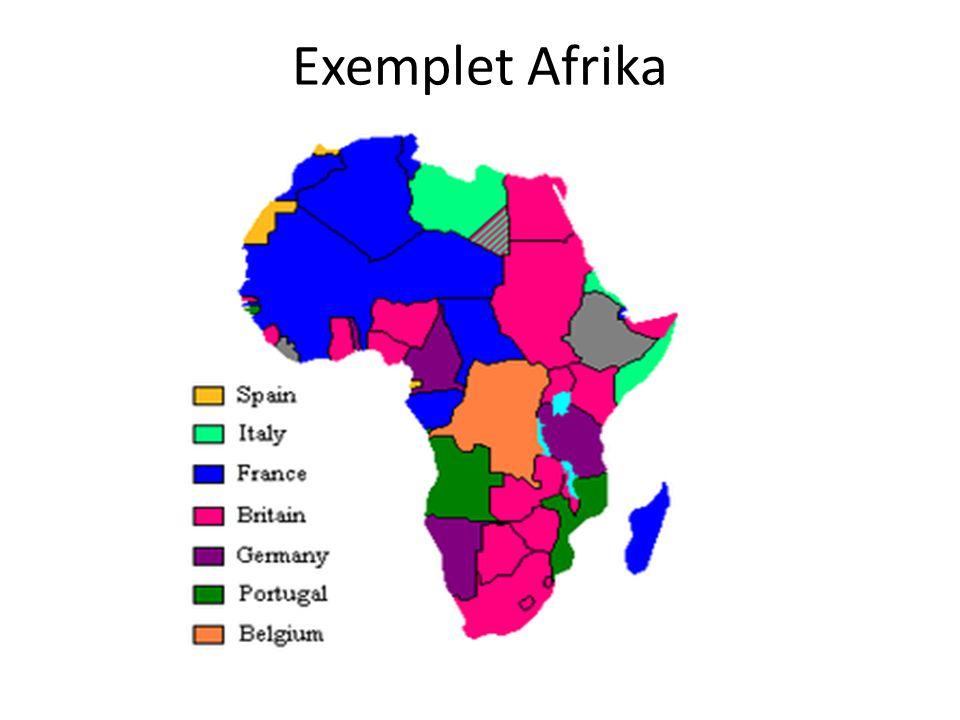 Exemplet Afrika