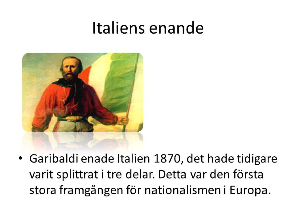 Italiens enande