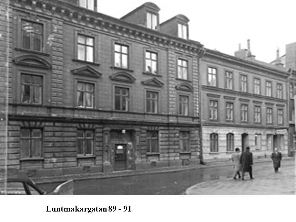 Luntmakargatan 89 - 91 Luntmakargatan 89 - 91