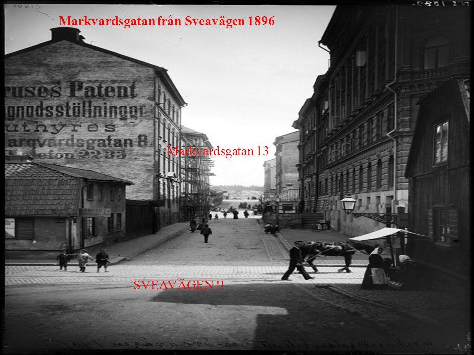 Markvardsgatan från Sveavägen 1896