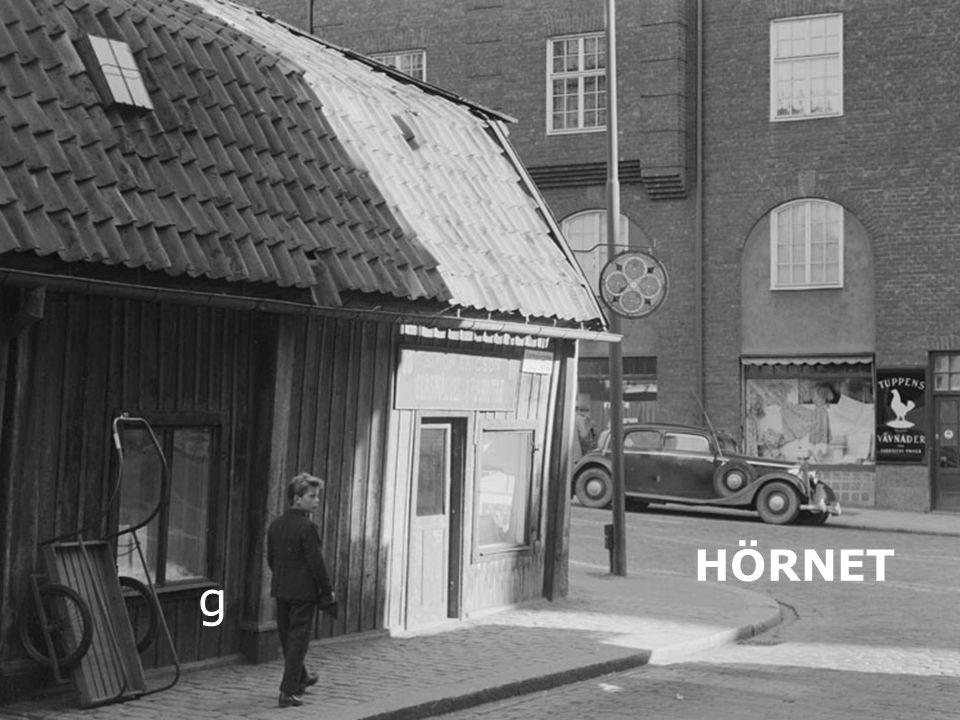 Hörnan Luntis/Rehngatan 1954