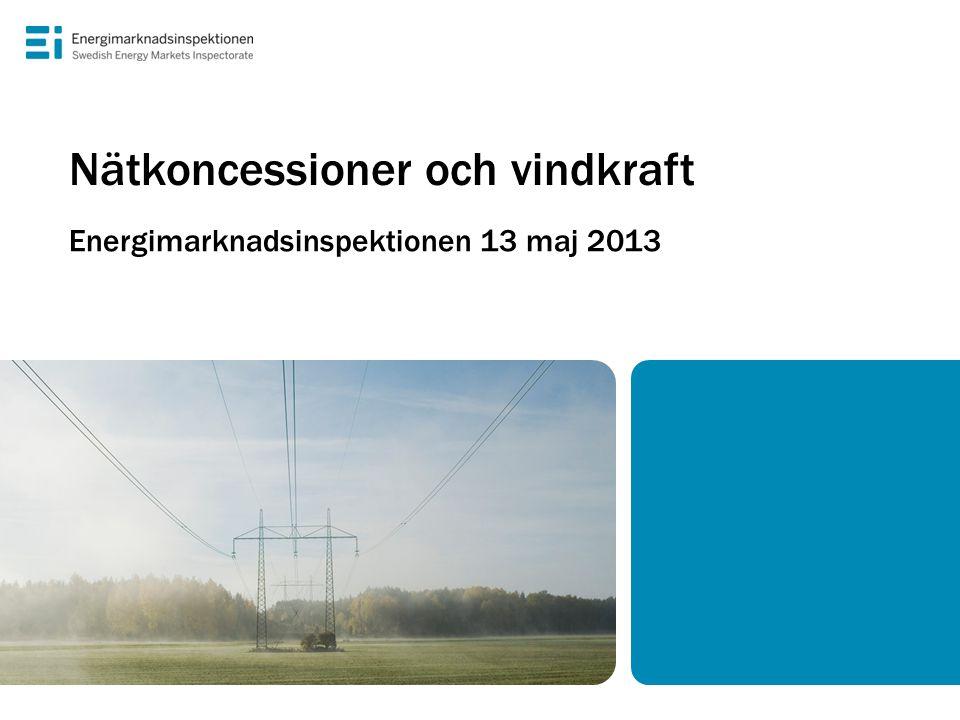 Nätkoncessioner och vindkraft