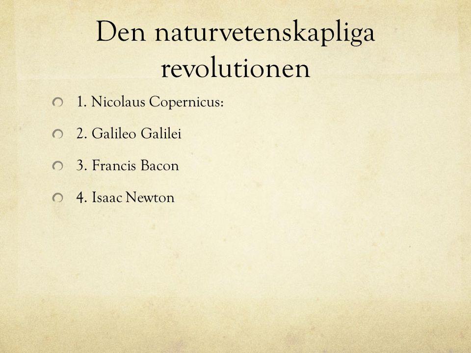 Den naturvetenskapliga revolutionen