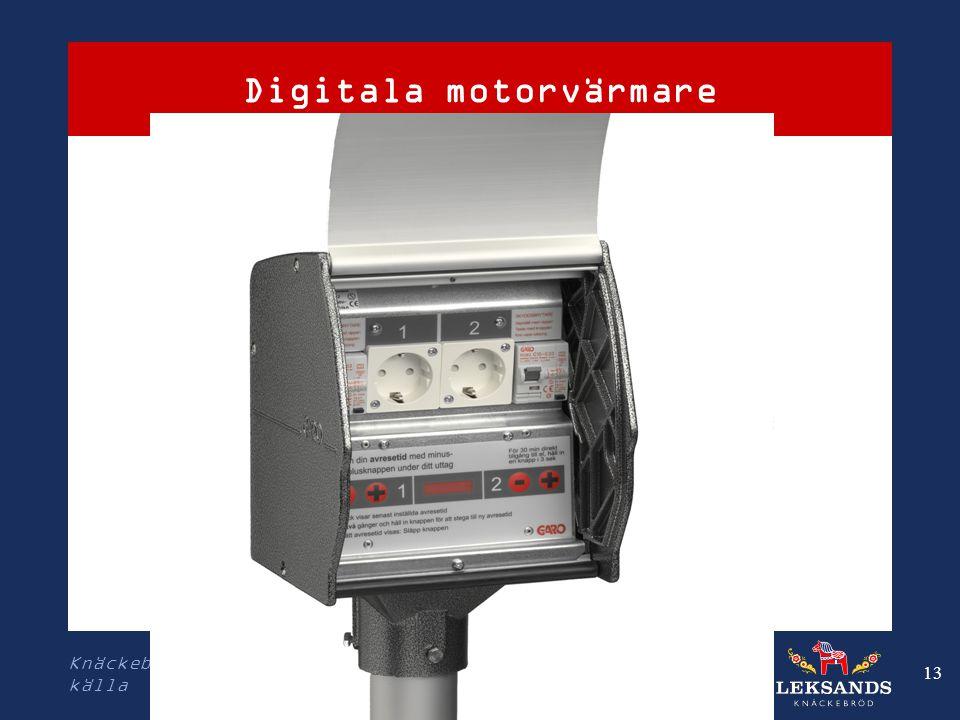 Digitala motorvärmare