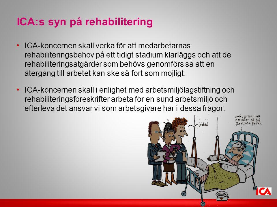 ICA:s syn på rehabilitering
