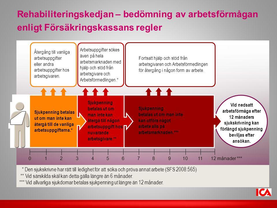 Rehabiliteringskedjan – bedömning av arbetsförmågan enligt Försäkringskassans regler