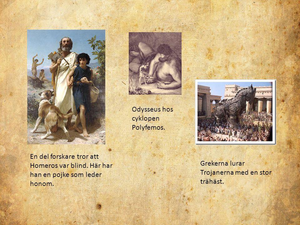 Odysseus hos cyklopen Polyfemos.