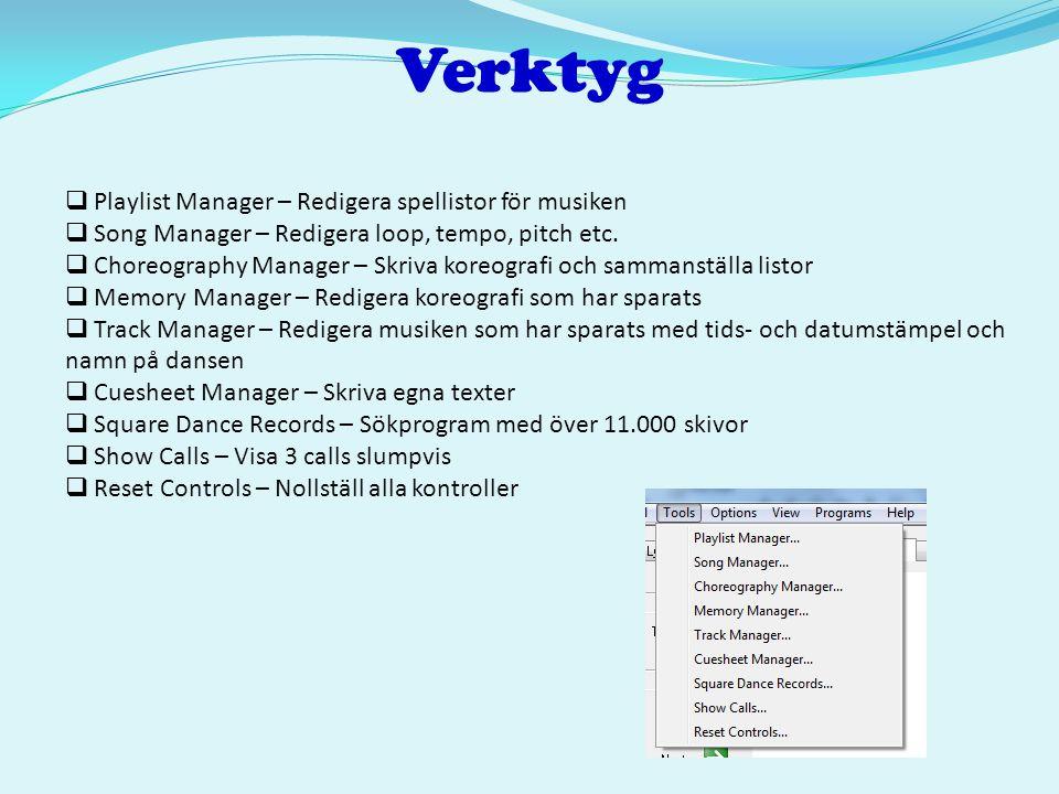Verktyg Playlist Manager – Redigera spellistor för musiken