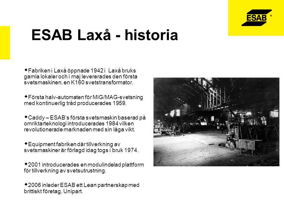 ESAB Laxå - historia