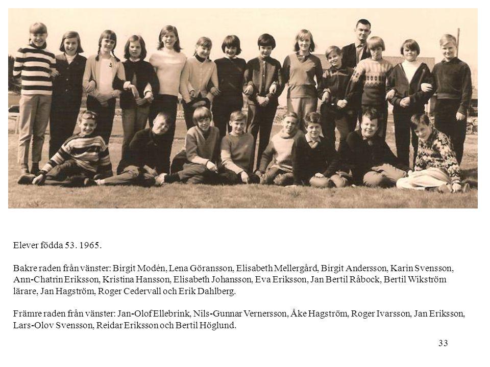 Elever födda 53. 1965.