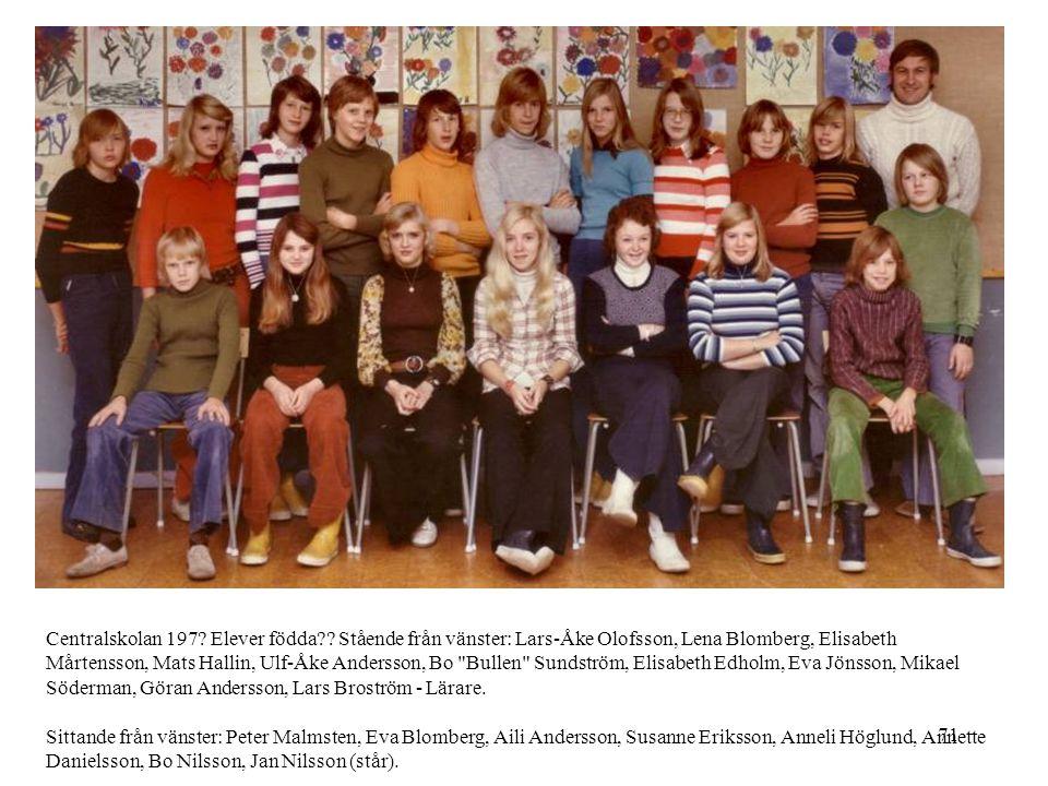 Centralskolan 197. Elever födda