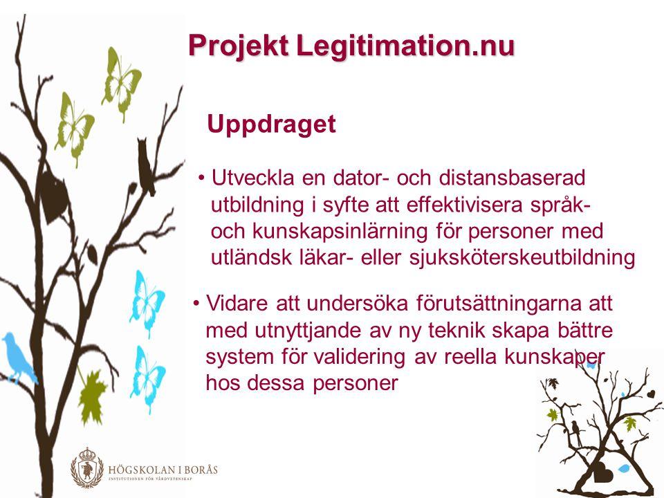 Projekt Legitimation.nu