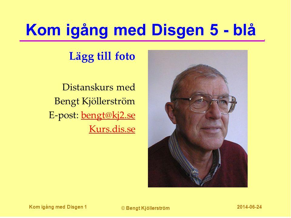 Kom igång med Disgen 5 - blå